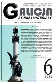 Galicia. Studies and materials No. 6/2020